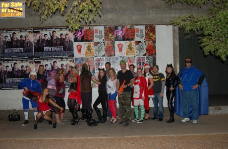 Hero and Vilian pub crawl 2012